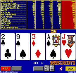 Multi-hand Video Poker Canada